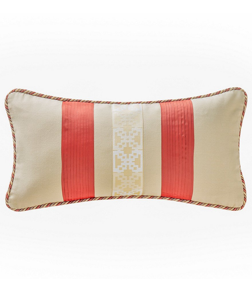Waterford Cathryn Pieced Ribbon Boudoir Pillow