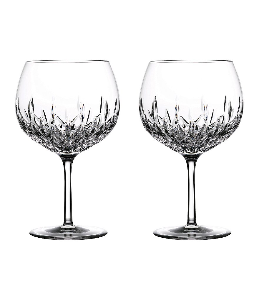 Waterford Crystal Gin Journeys Lismore Balloon Glasses, Set of 2
