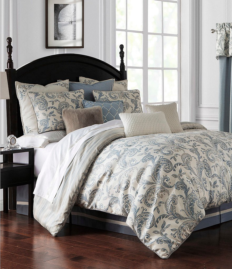 Waterford Florence Paisley Comforter Set