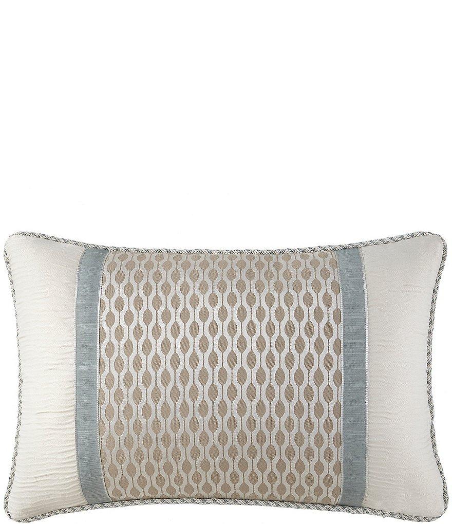 Waterford Jonet Pieced Breakfast Pillow   Dillards