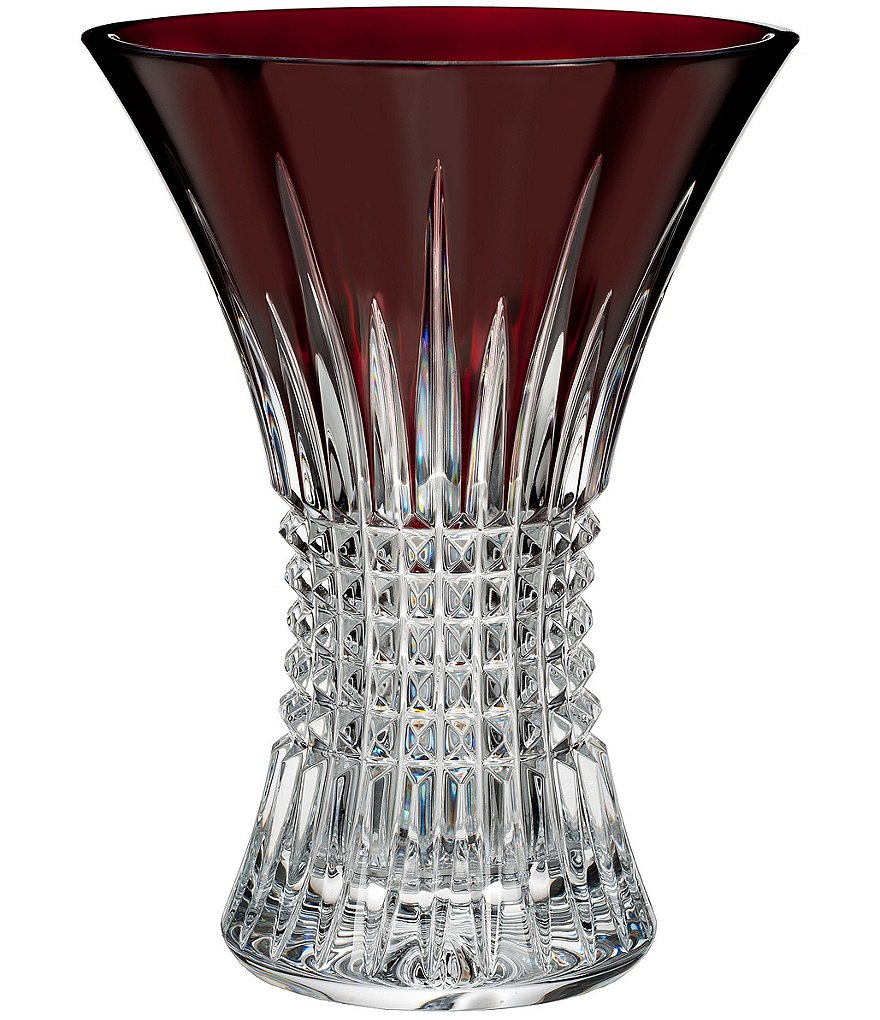 Waterford Lismore Diamond Crystal Vase