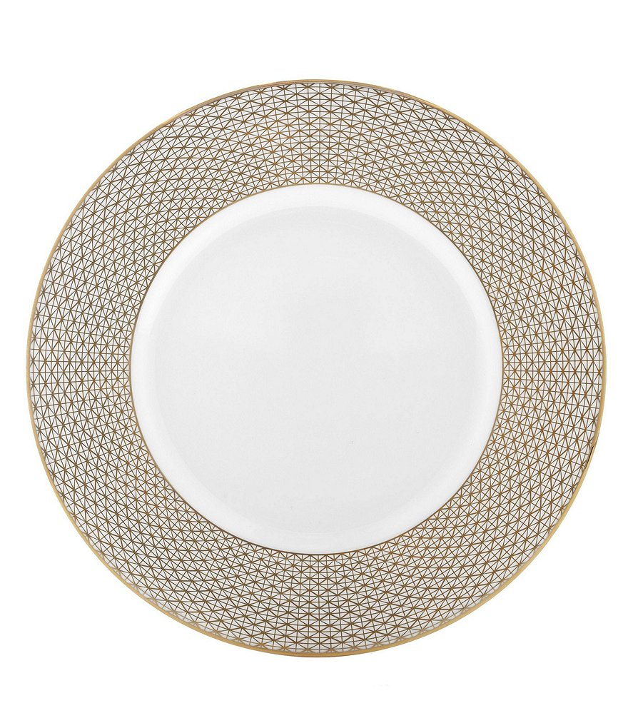 Waterford Lismore Diamond Gold Accent Plate