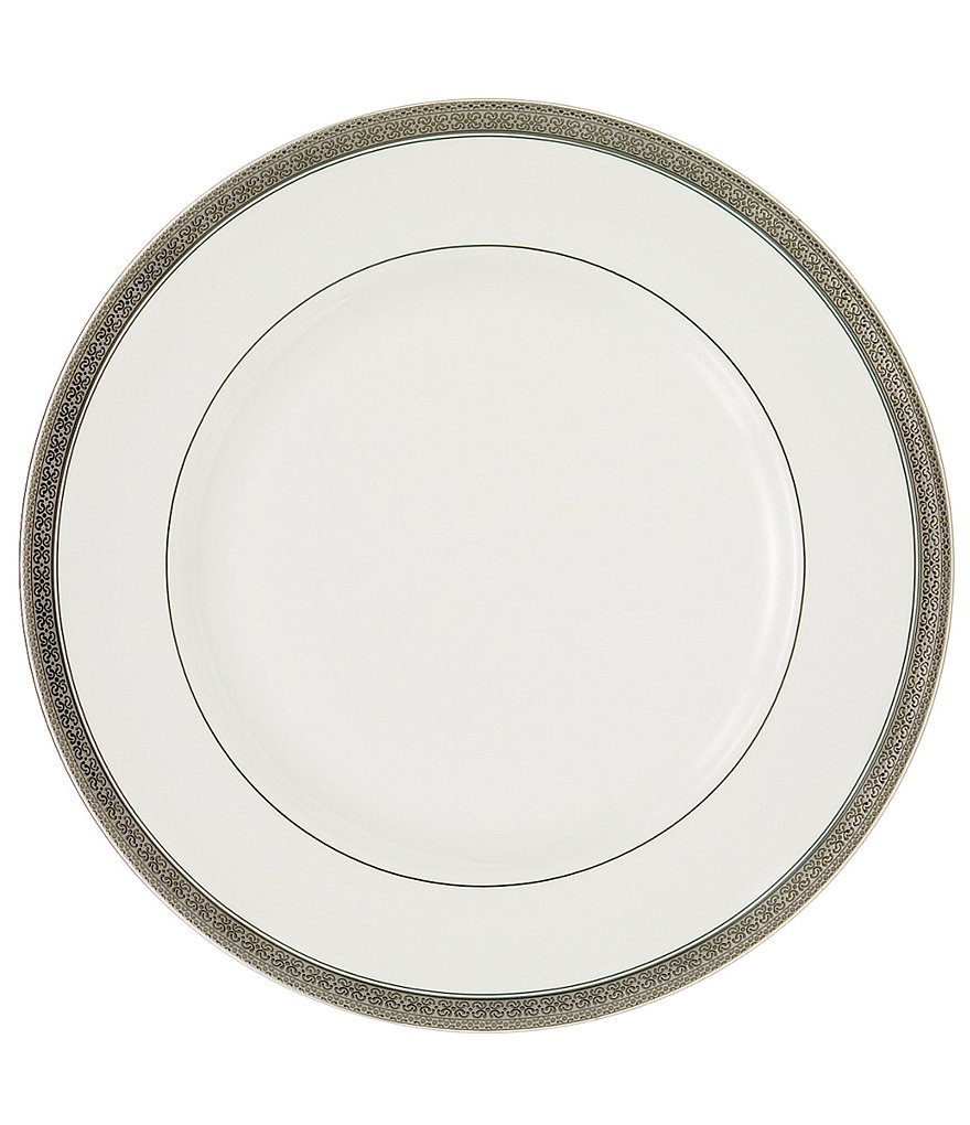 Waterford Newgrange Platinum Celctic Scroll Bone China Dinner Plate