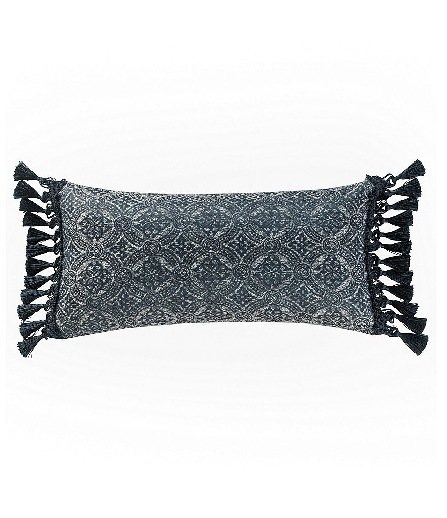 Waterford Sinclair Tasseled Medallion Oblong Pillow