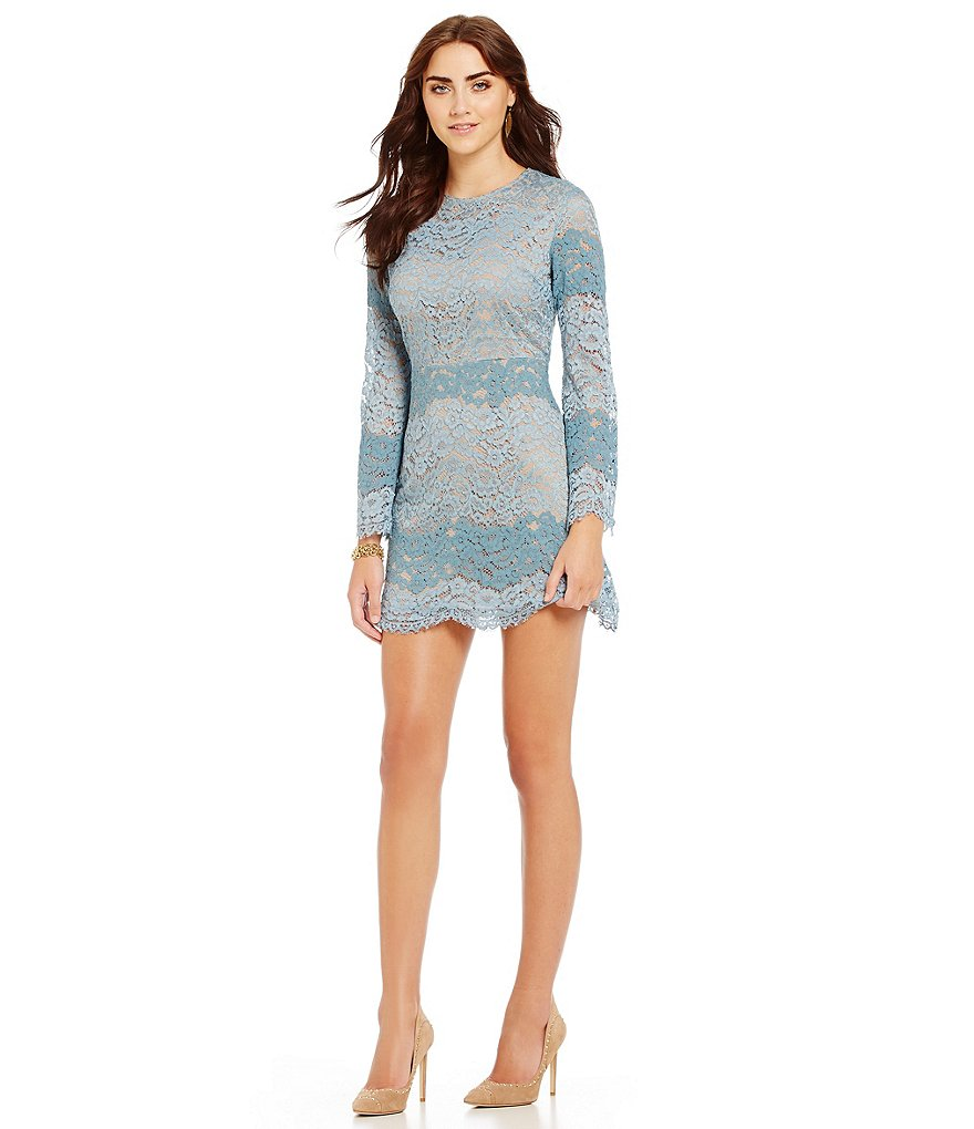 WAYF Dream Lover Lace Mini Dress