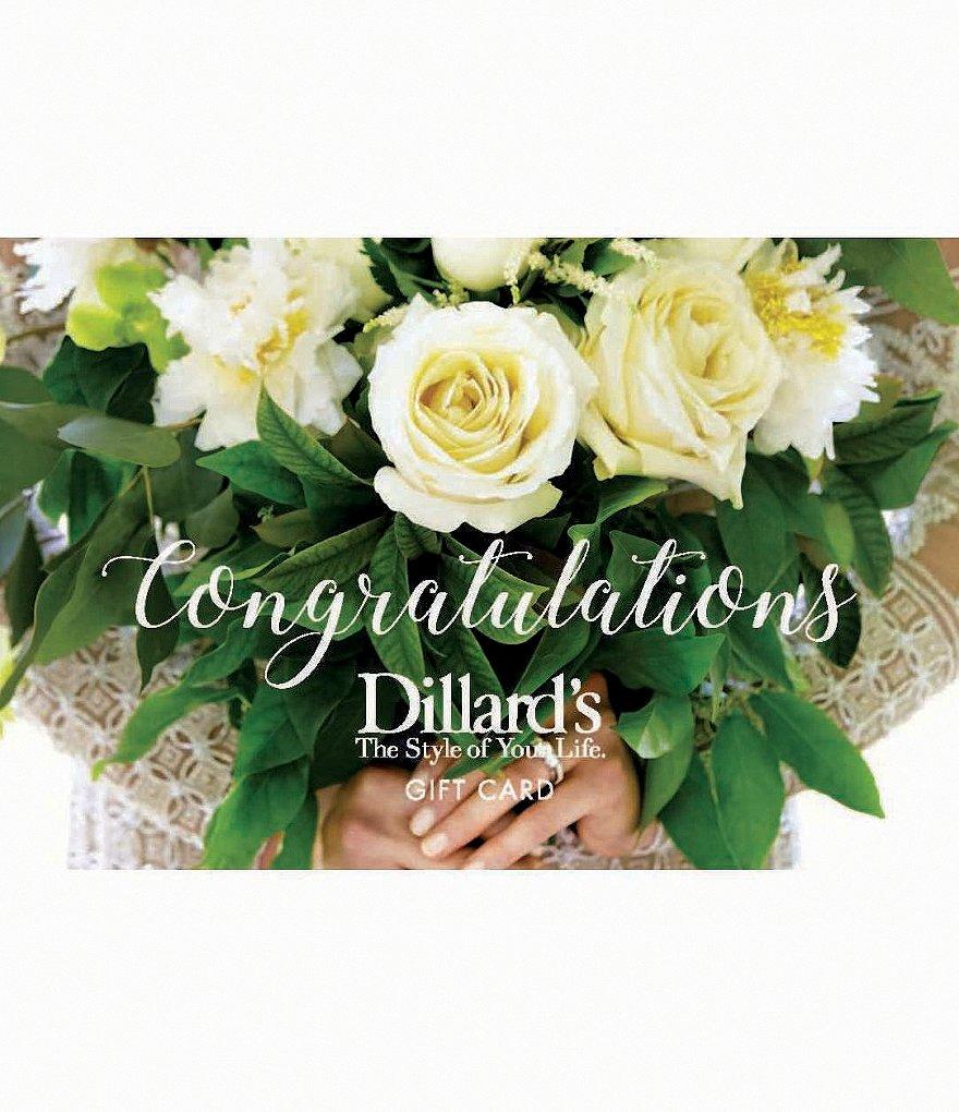 wedding gift card dillard s