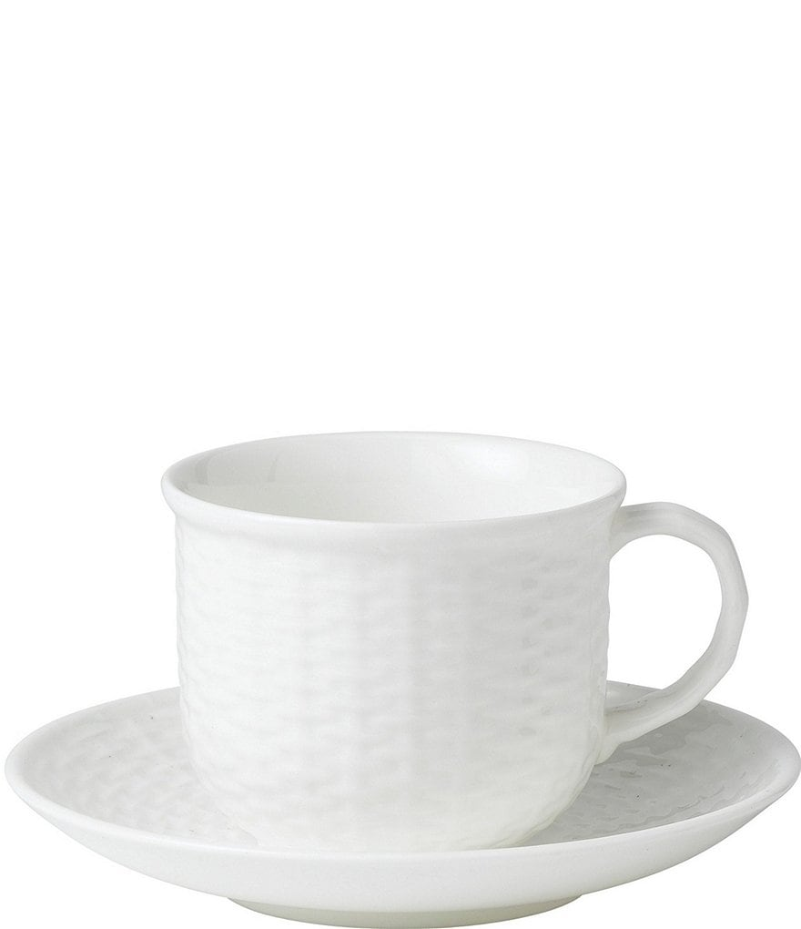 Wedgwood Nantucket Basket Bone China Cup & Saucer
