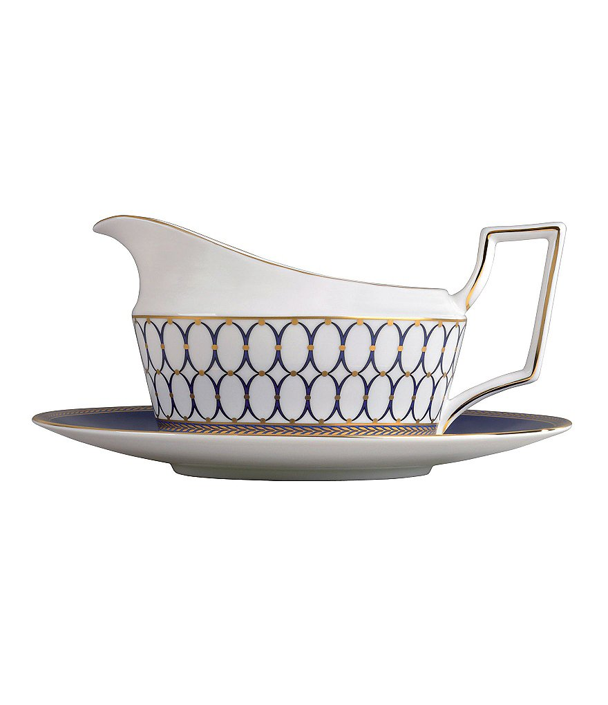 Wedgwood Renaissance Neoclassical Gravy Boat