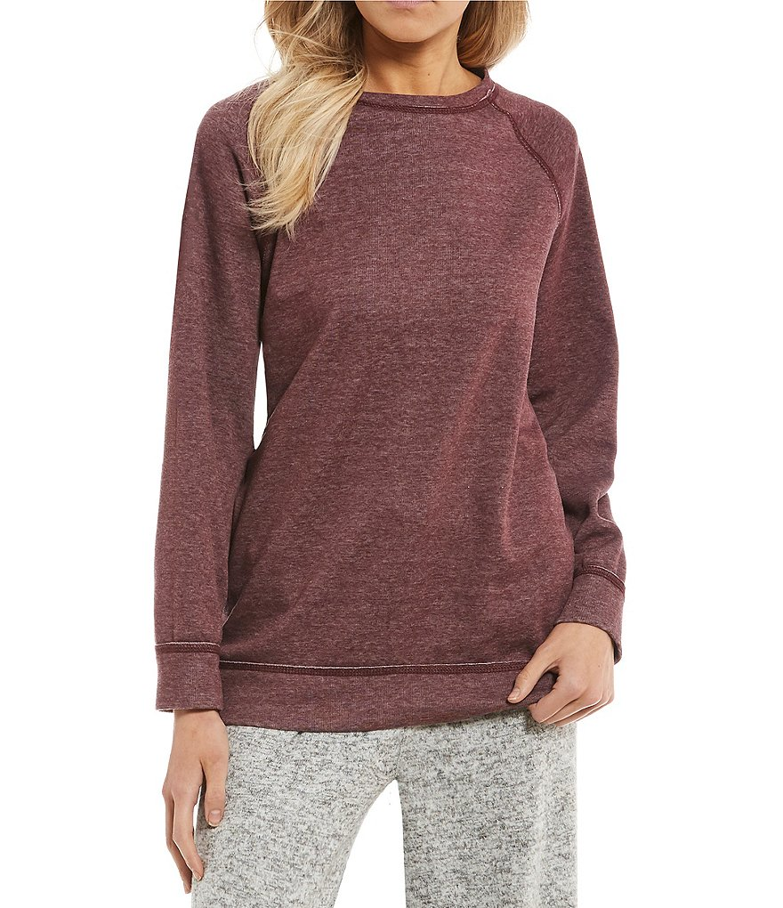 West Coast by Coco Washed Cozy Knit Tunic