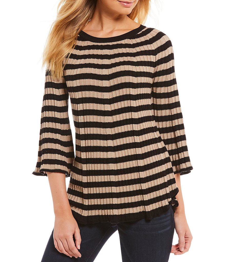 Westbound 3/4 Sleeve Swing Sweater