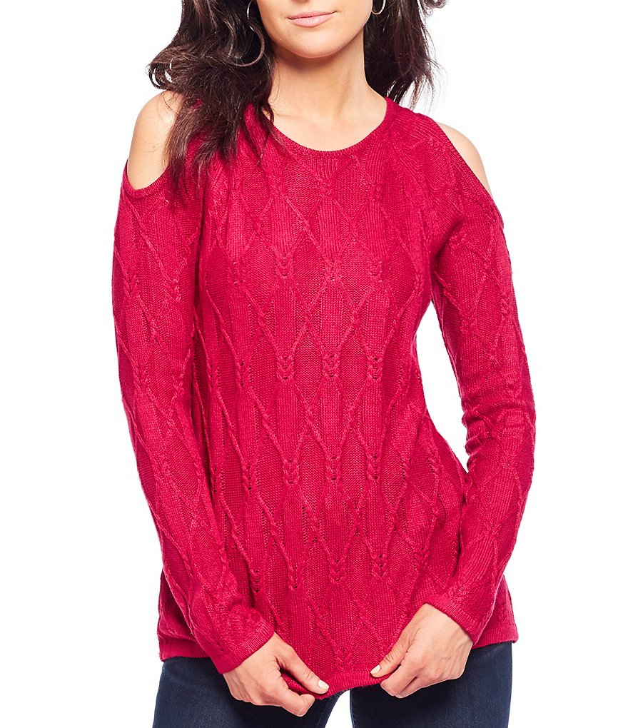 Westbound Cold Shoulder Sweater