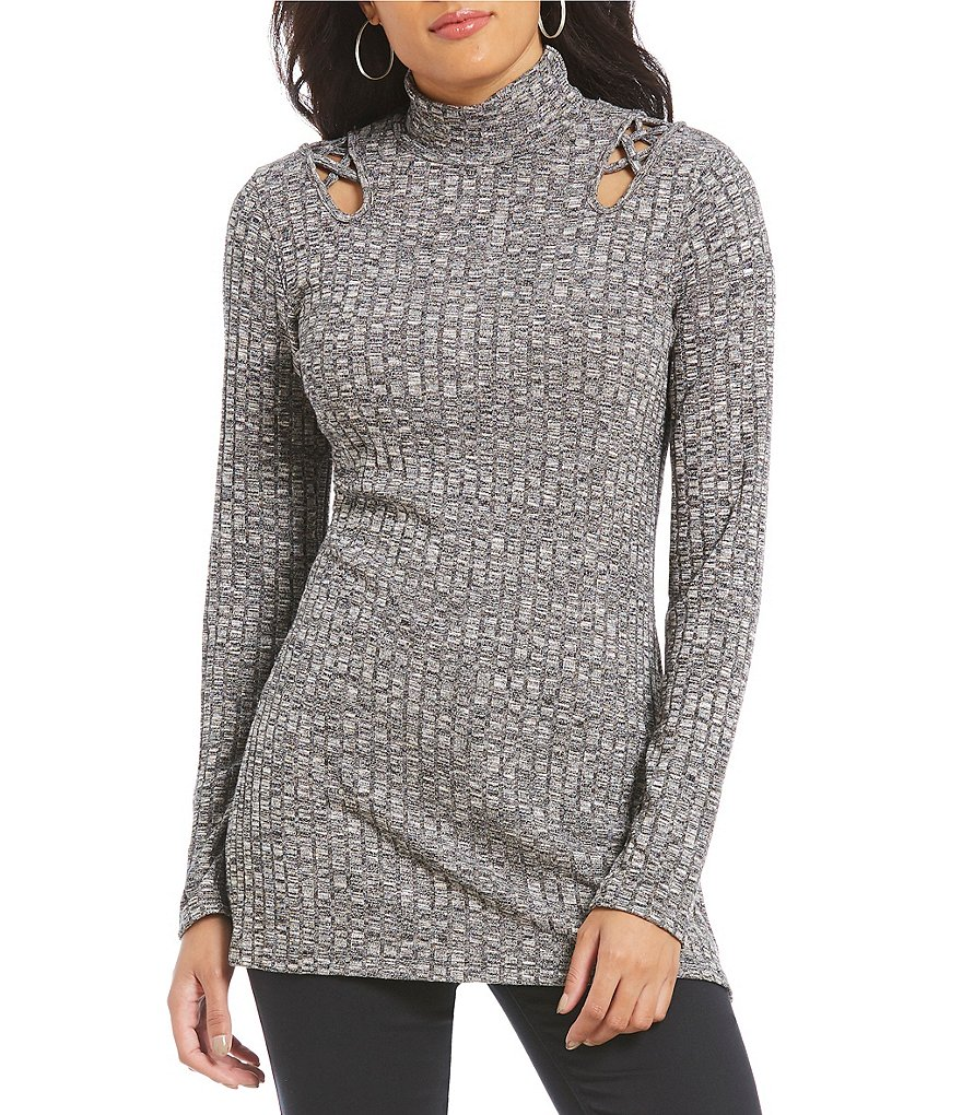 Westbound Lattice Tunic