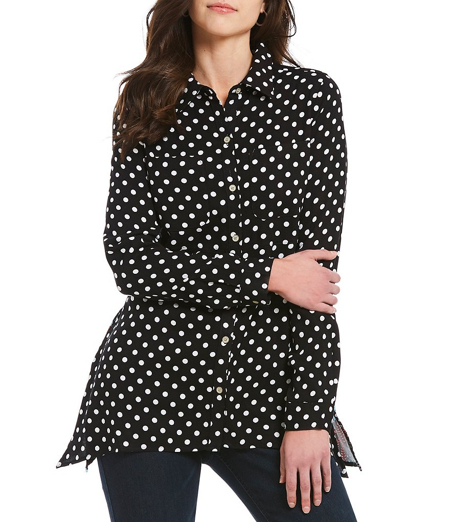 Westbound Petites 2 Pocket Tunic Top