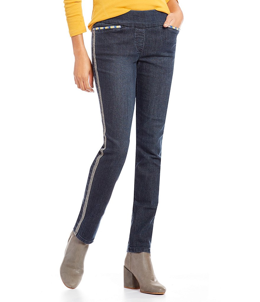 Westbound Petites the Park Ave fit Slim Leg Pant