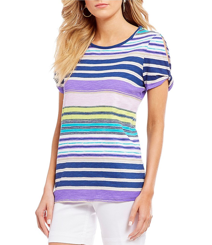 Westbound Twisted Sleeve Top