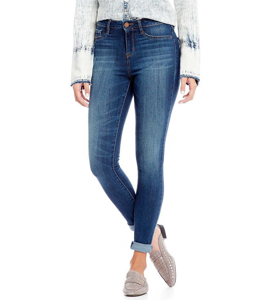 William Rast Sculpted High-Rise Skinny Jeans