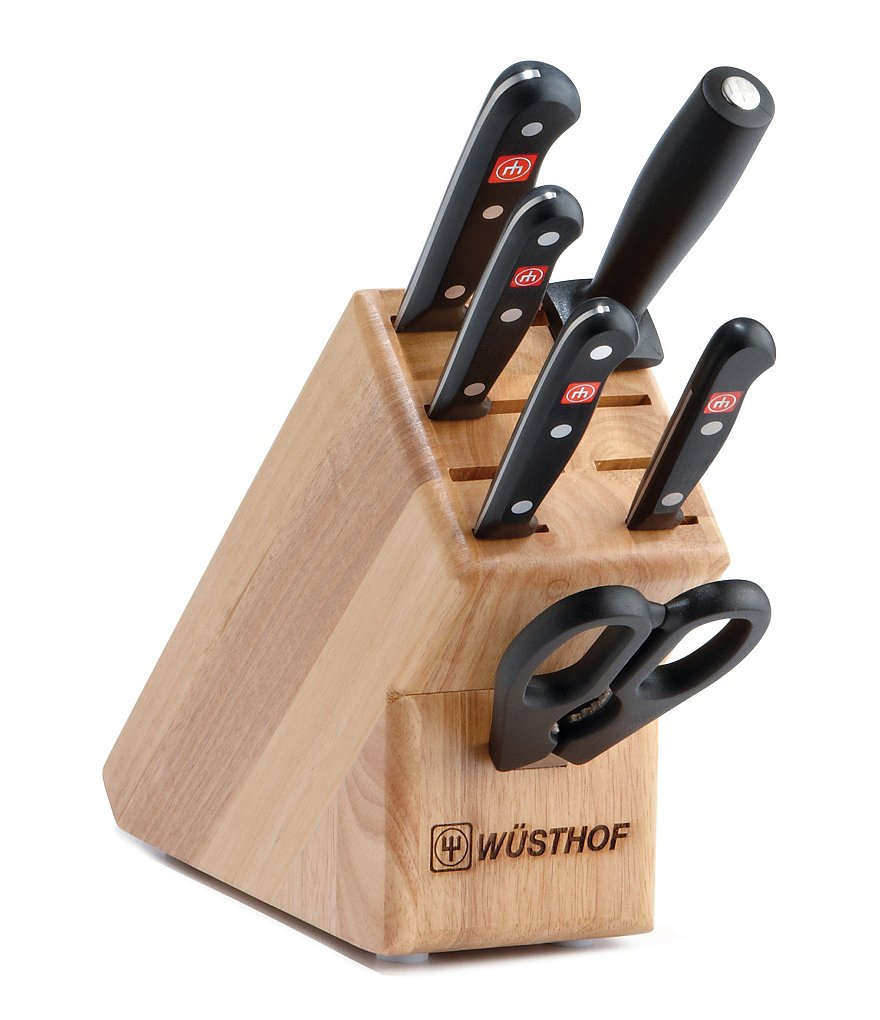 Wusthof Gourmet 7-Piece Starter Knife Set with Block
