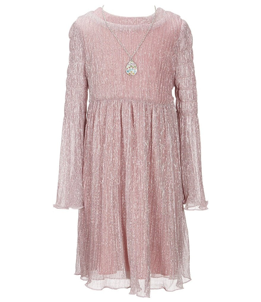 Xtraordinary Little Girls 4-6X Metallic A-Line Dress