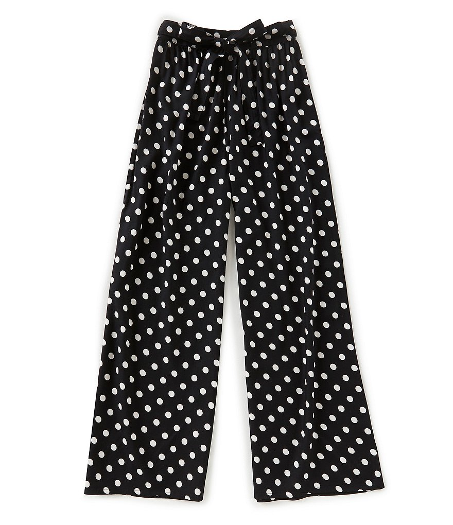 Zoe & Rose by Band of Gypsies Big Girls 7-16 Dotted Palazzo Pants