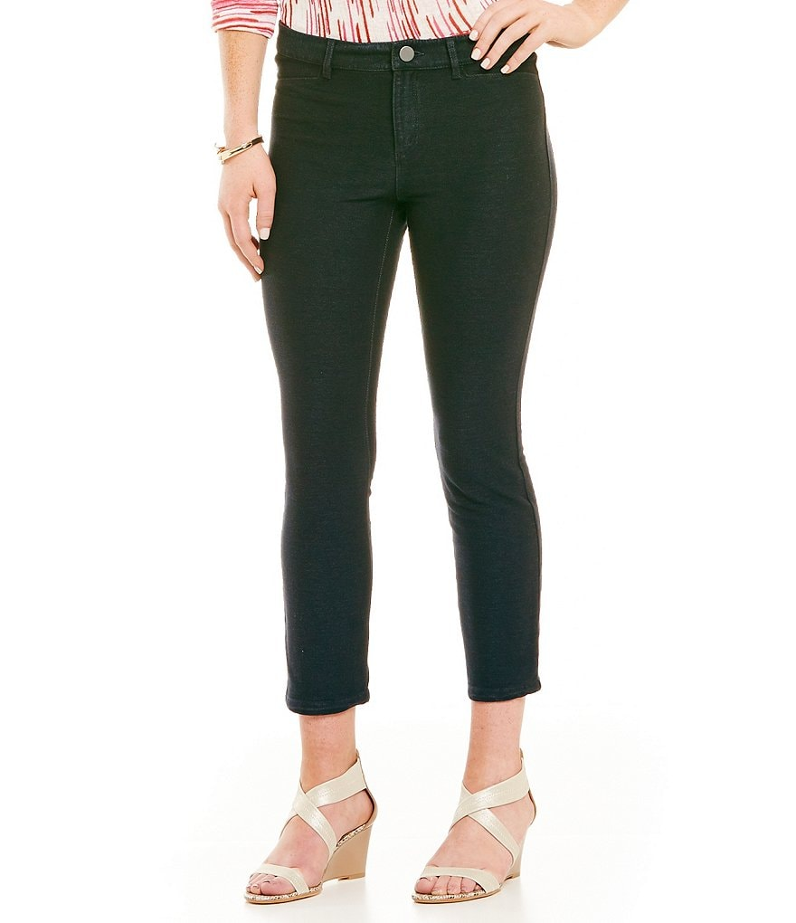 ZOZO Cropped Knit Denim Pants