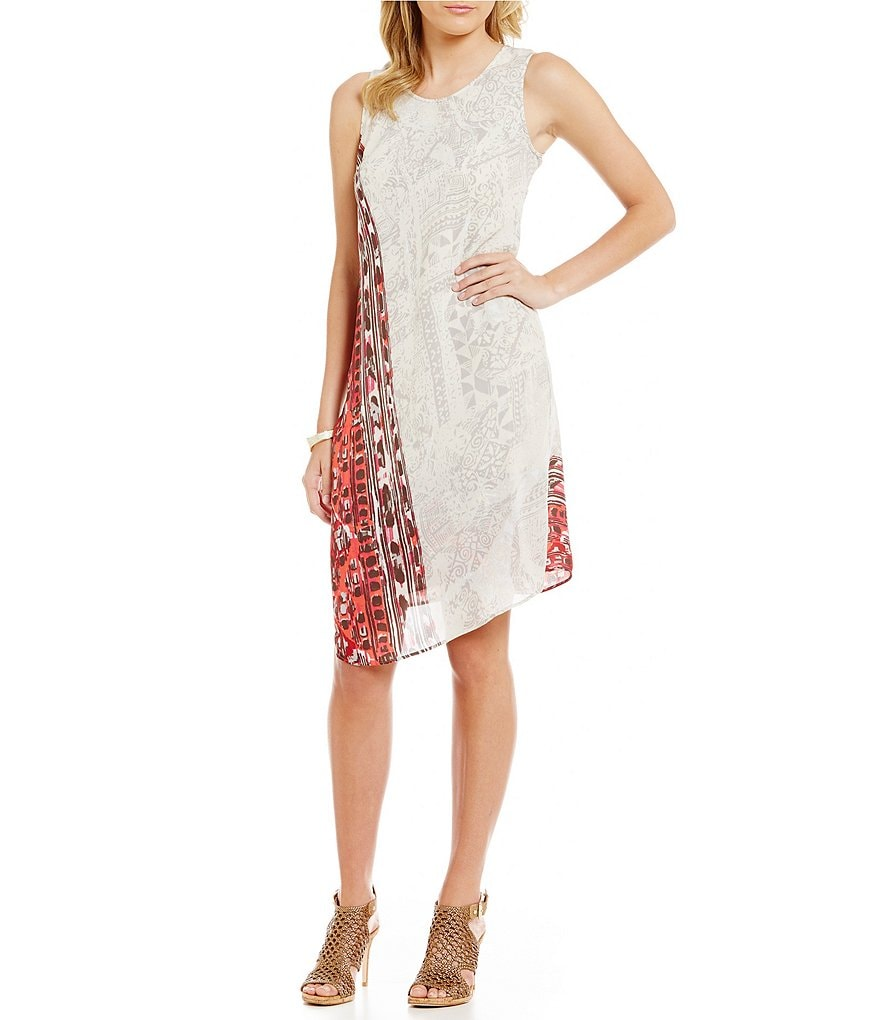 ZOZO Morocco Faux-Wrap Dress