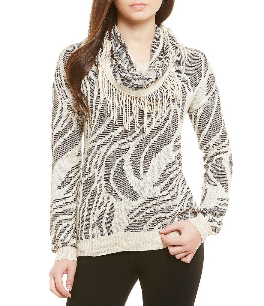 ZOZO Well Long Sleeve Scarf Top
