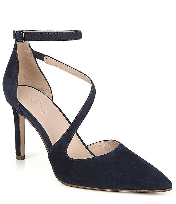 27 EDIT Abilyn Suede Pumps