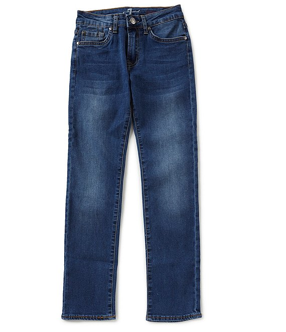 7 for all mankind Big Boys 8-20 Slimmy Denim Jeans
