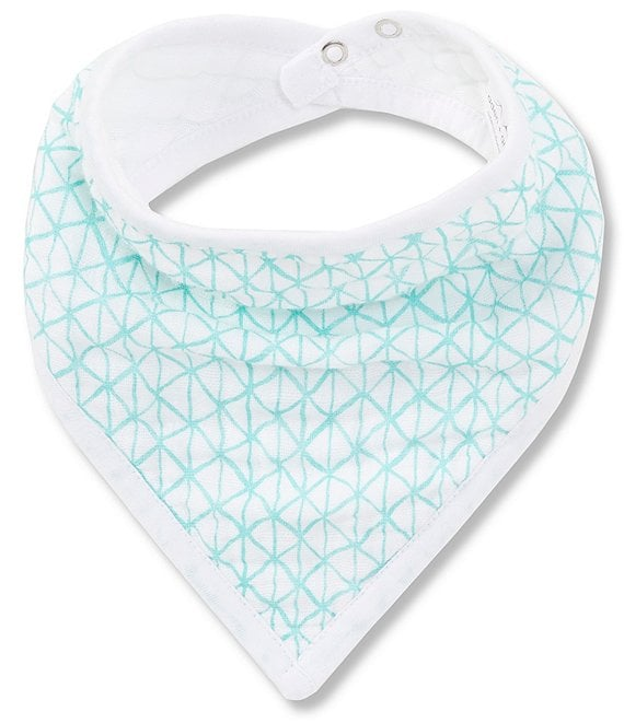 Color:Around The World - Image 1 - Muslin Around the World Bandana Bib