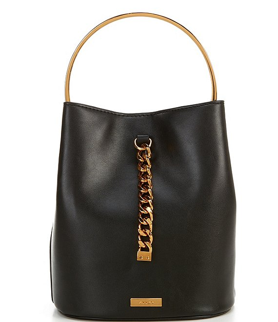 ALDO Ledava Tassel Ring Handle Bucket Bag