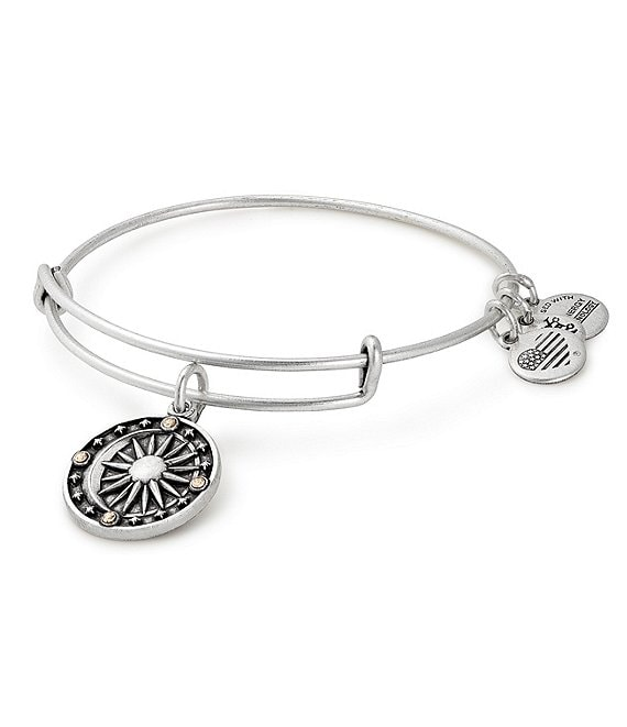 Alex and Ani Cosmic Balance Charm Bangle Bracelet