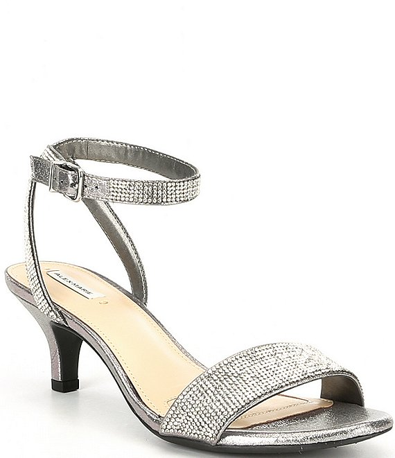 Color:Ceylon - Image 1 - Nallie Shimmer Banded Sandals