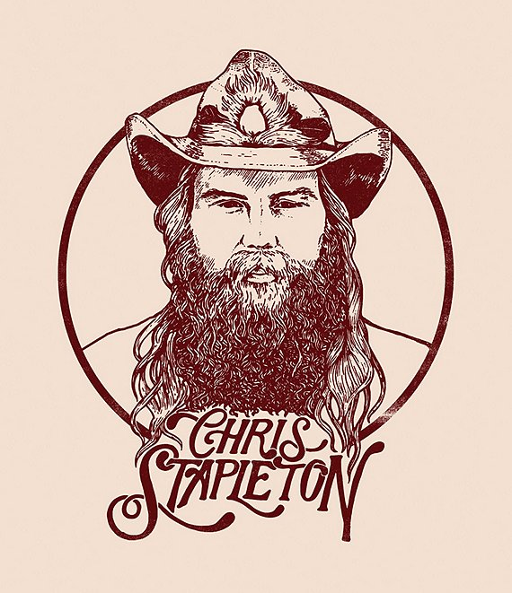 Alliance Entertainment Chris Stapleton From a Room Vinyl Record