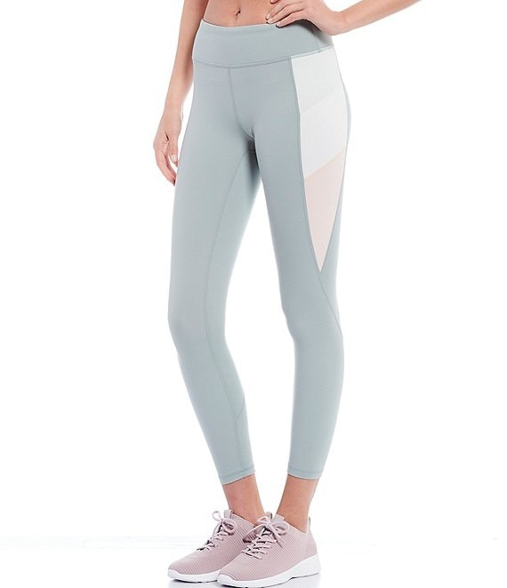 Color:Herbal/Dove - Image 1 - Active In Sync Color Block 25#double; Legging