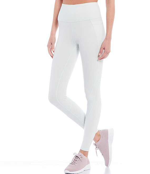 Color:Dove - Image 1 - Endurance High Waist 28#double; Leggings