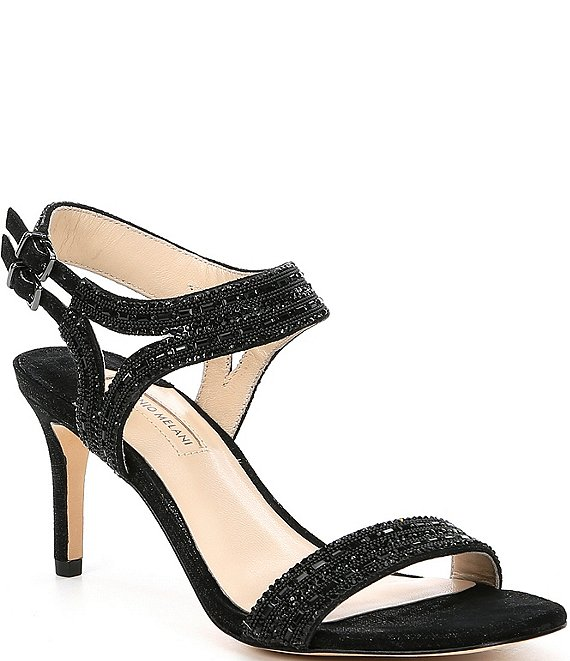 Antonio Melani Haelee Rhinestone Dress Sandals