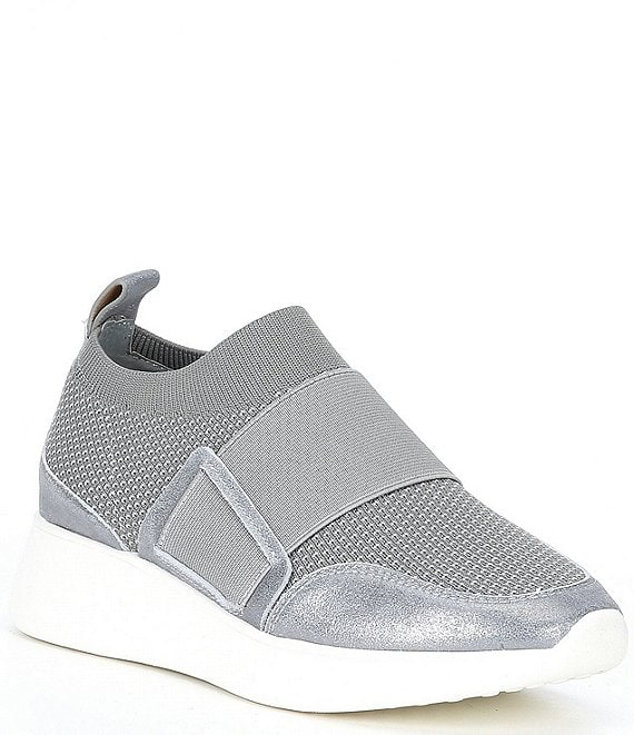 Color:Haze/White - Image 1 - Lowiss-A Slip-On Traniers
