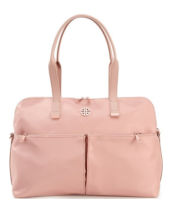 Color:Blush - Image 1 - Nylon Gym Bag