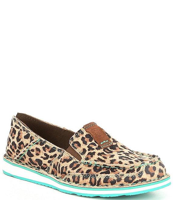 2659559bb8e32 Ariat Cruiser Cheetah Slip-Ons