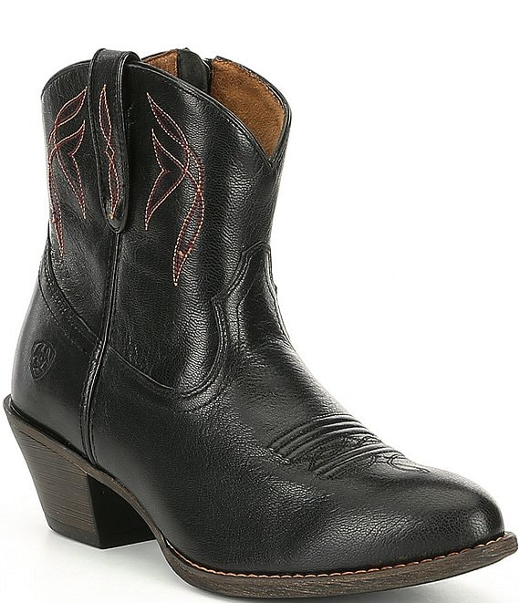 130271ab3b26 Ariat Darlin Short Leather Western Boots | Dillard's