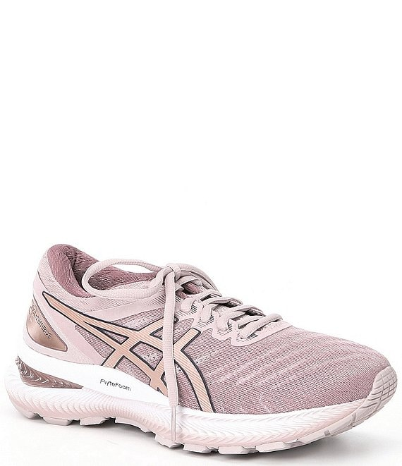 Color:Watershed Rose/Rose Gold - Image 1 - Women's GEL-Nimbus 22 Running Shoes