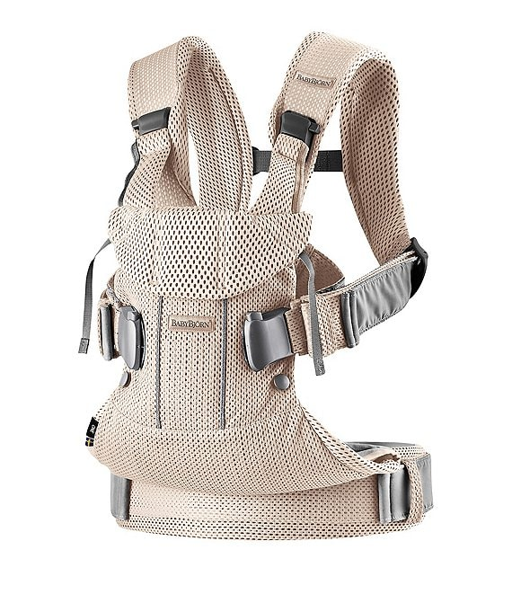 Color:Pearly Pink - Image 1 - BABYBJORN Baby Carrier One Air