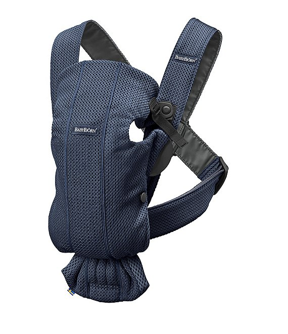 Color:Navy - Image 1 - BABYBJORN Mesh Baby Carrier Mini