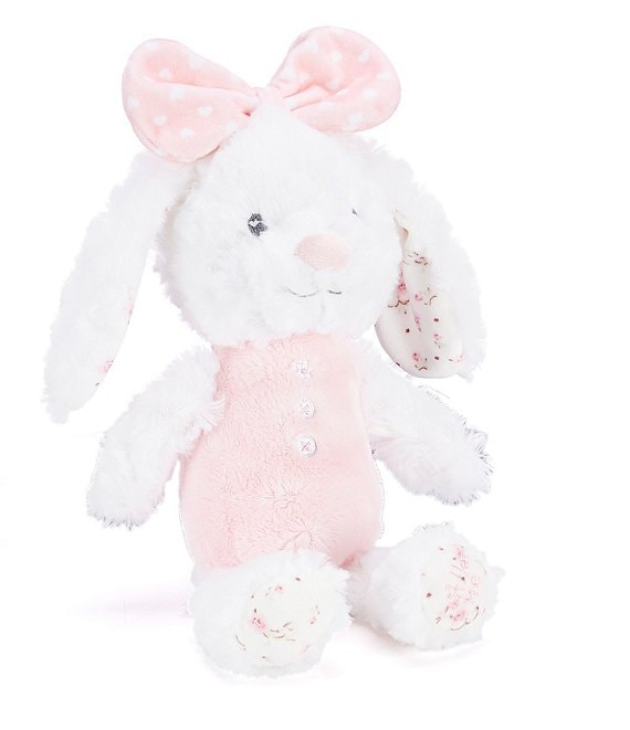 Little Me Baby Girls 11#double; Floral Huggable Rabbit Plush