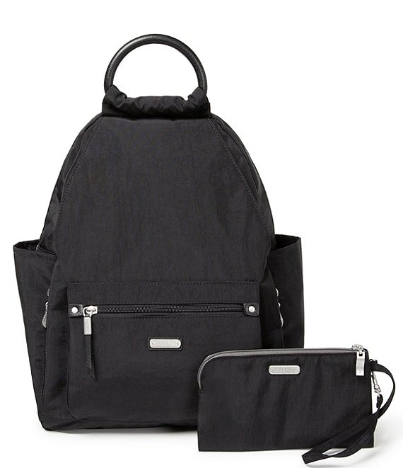 Color:Black - Image 1 - RFID All Day Backpack