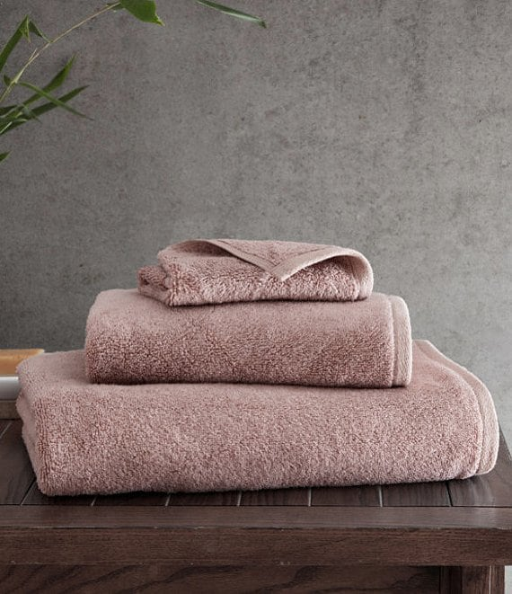 Color:Coral Pink - Image 1 - Resort Bamboo Collection by RHH Bath Towels