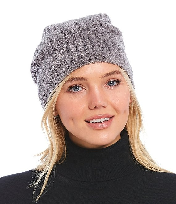 Color:Ash/Pewter - Image 1 - Cozy Chic Lite Collection Ribbed Beanie