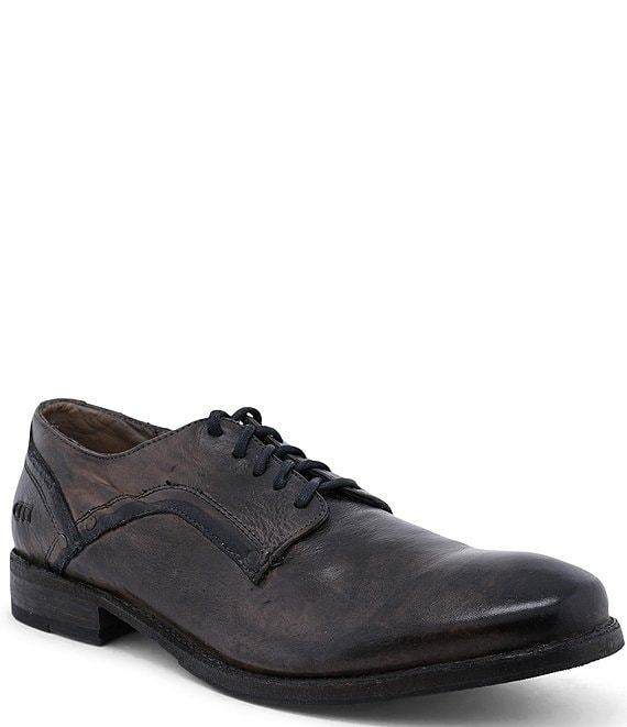 Color:Graphito Dip Dye - Image 1 - Men's Larino Leather Oxford