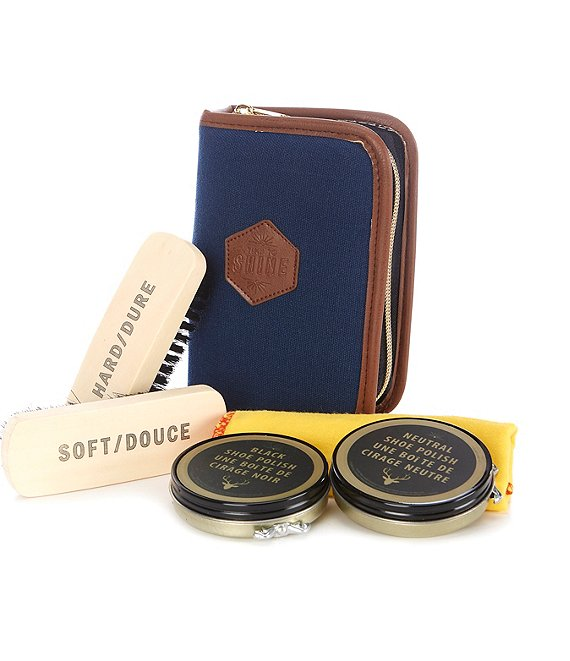 Berkshire Travel Shoeshine Kit