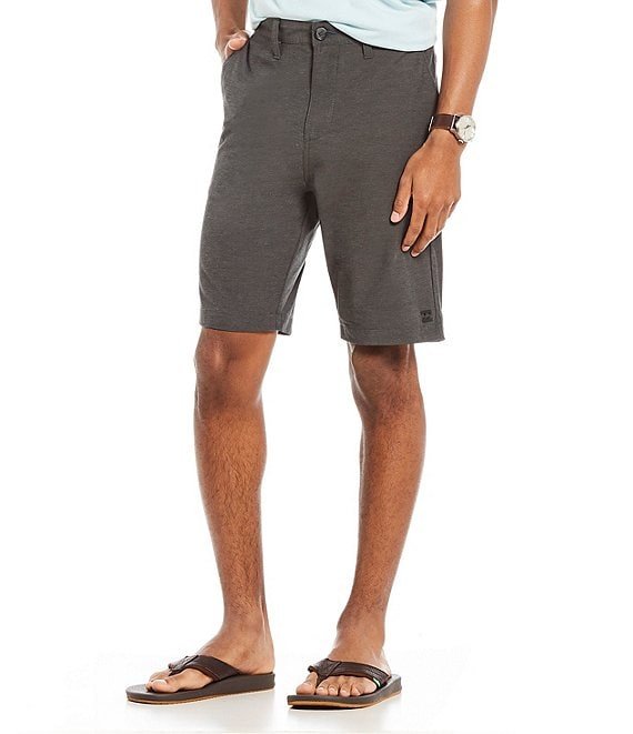 Color:Asphalt - Image 1 - Crossfire X Submersibles 21#double; Outseam Comfort Stretch Walkshorts